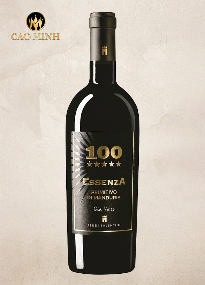 Rượu Vang Ý 100 Essenza Di Manduria