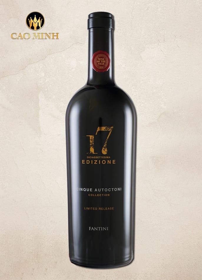 Rượu vang Ý - 17 Edizione Cinque Autoctoni