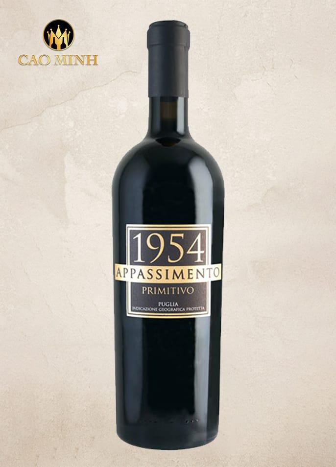 Rượu vang Ý - 1954 Appassimento Primitivo