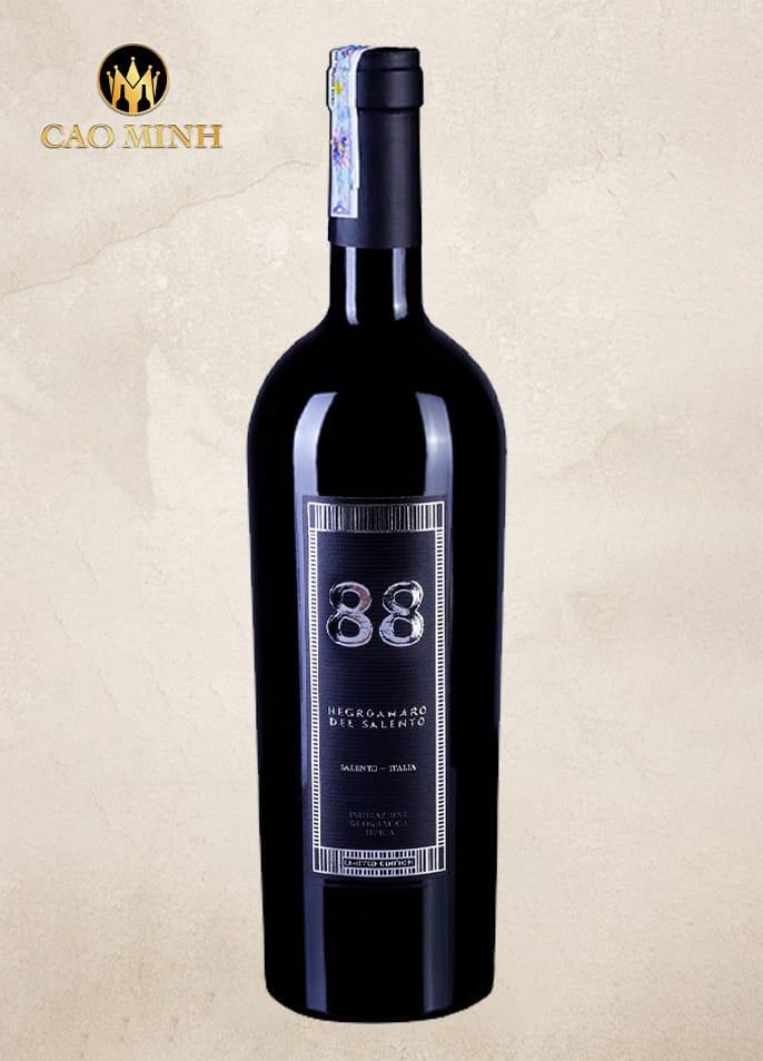 Rượu vang Ý - 88 Negroamaro Del Salento
