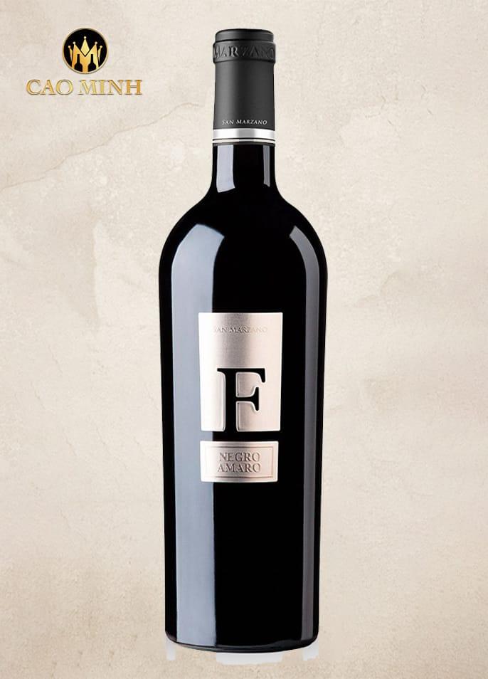 Rượu Vang Ý - F Negroamaro