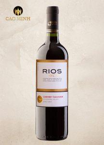 Rượu Vang Chile Rios De Chile Cabernet Sauvignon Giá Tốt