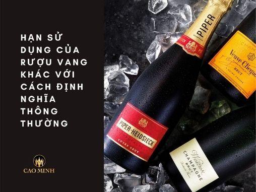 Hạn Sử Dụng Rượu Vang - Rượu Vang Khui Rồi Để Được Bao Lâu?
