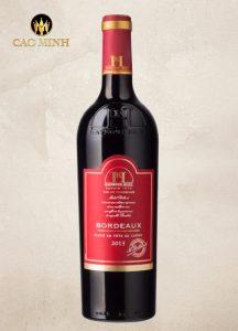 Rượu vang Pháp Bordeaux - Giá bao nhiêu