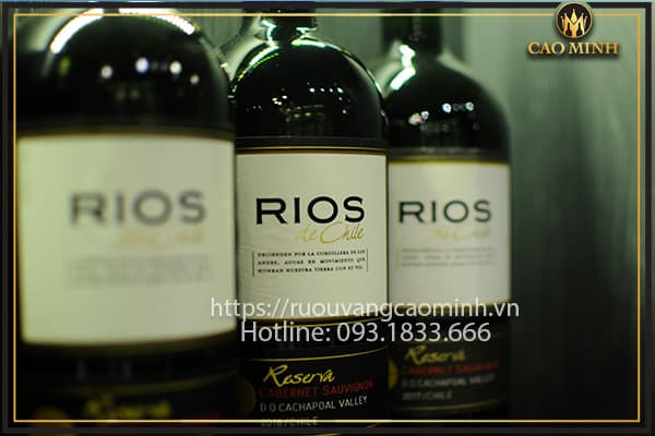 Rượu vang Chile Cabernet Sauvignon