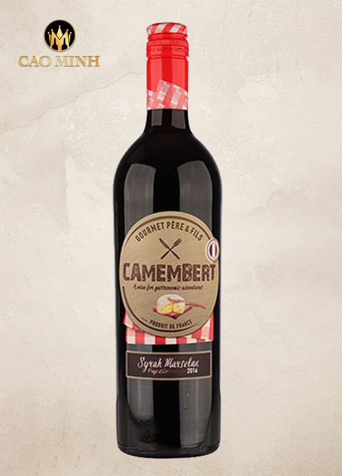 Rượu vang Camembert Syrah Marselan