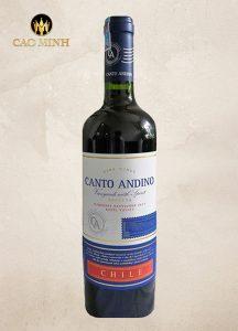 RƯỢU VANG CHILE CANTO ANDINO