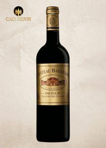 Rượu vang Pháp Chateau Batailley -2014