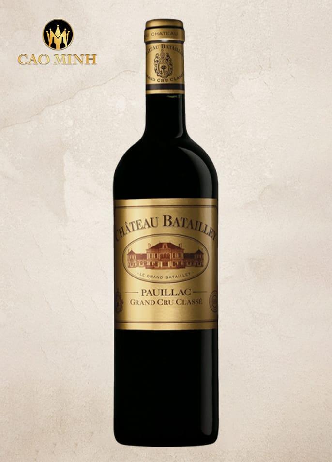 Rượu vang Pháp Chateau Batailley Pauillac - 2015