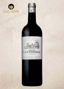 Rượu vang Pháp Chateau Cantemerle Haut - Medoc 2009