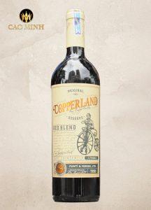 Rượu Vang Chile Copperland Reserva Red Blend