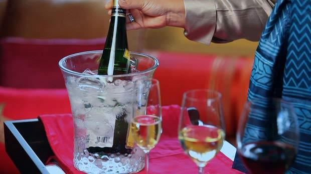 Nhiệt độ thưởng thức rượu vang