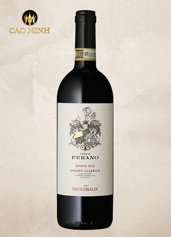 Rượu vang Ý Perano Riserva Chianti Classico