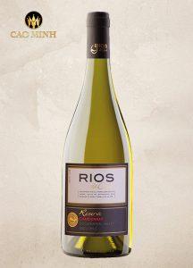 Rượu Vang Chile Rios Reserve Chardonnay