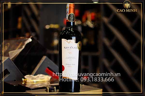 Rượu vang Chile Ravanal