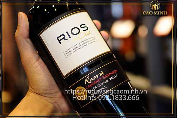 Rượu vang Rios Reserva
