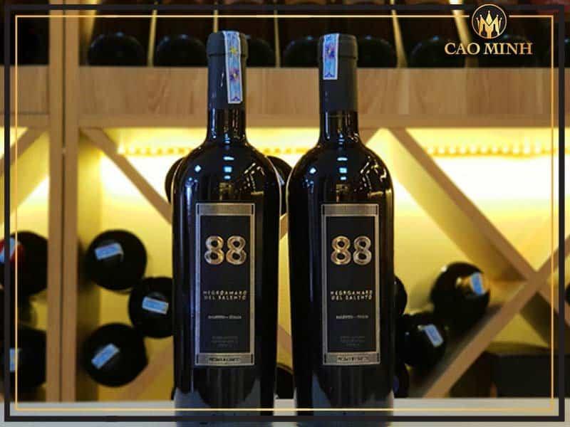 Rượu vang 88 Negroamaro Del Salento hương vị ĐẬM ĐÀ của Mottura