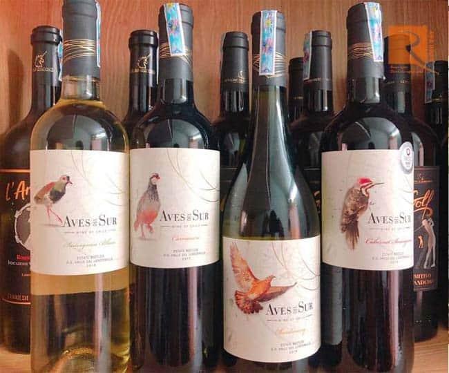 Rượu vang Aves Del Sur Clasico