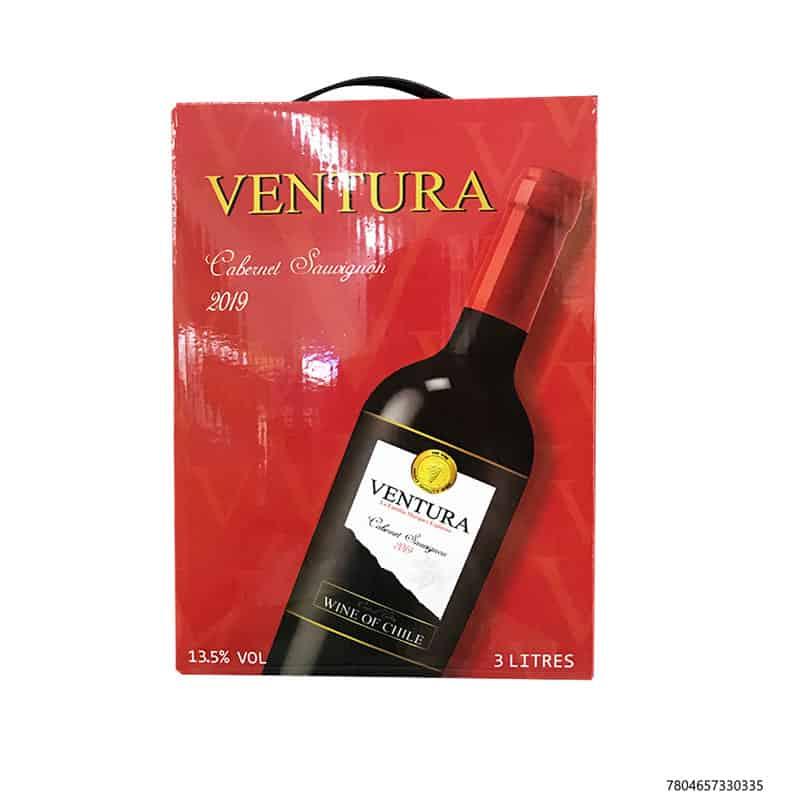 Rượu vang bịch có thời gian sử dụng khá lâu