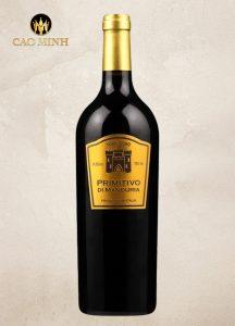 Rượu vang Ý Torri doro Primitivo di Maduria
