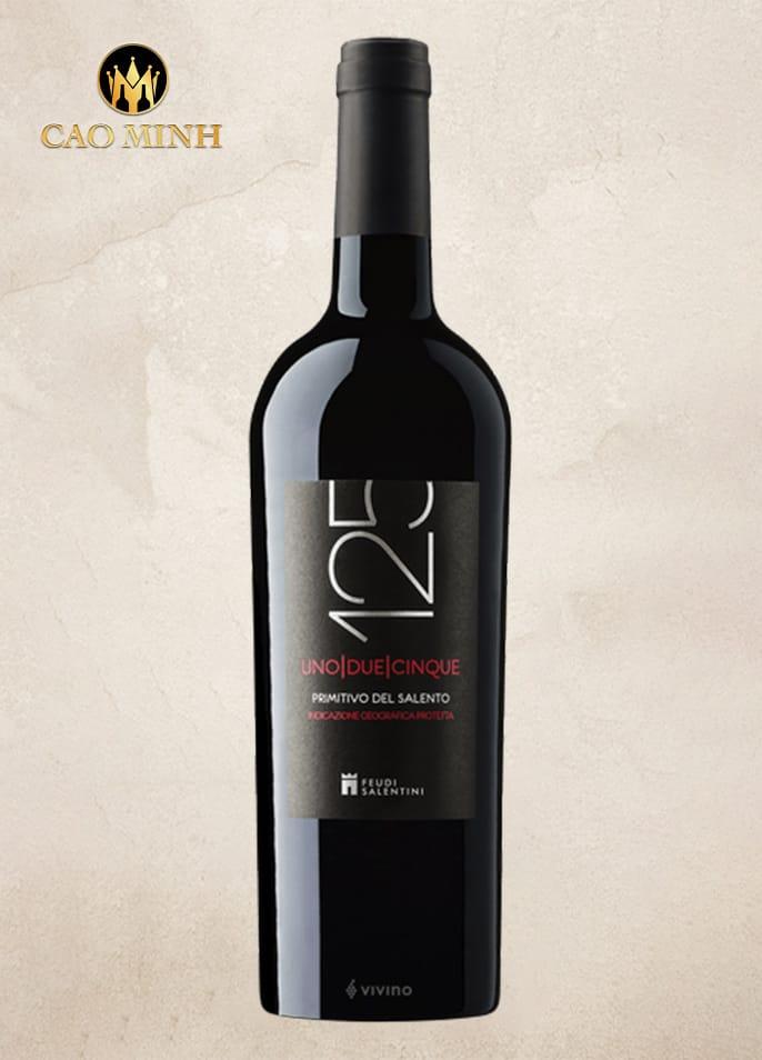 Rượu vang Ý 125 Del Salento