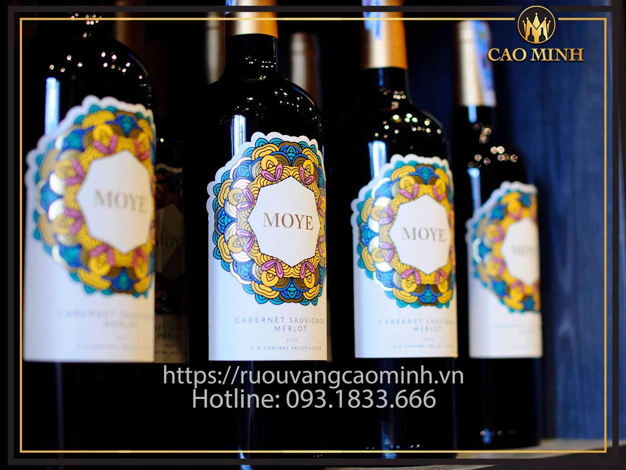 Rượu vang Chile Moye Cabernet Sauvignon - Merlot