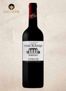 Rượu vang Pháp Chateau Terre Blanque Bordeaux