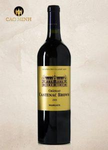Rượu vang Pháp Chateau Cantenac Brown