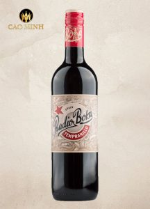 Rượu vang Radio Boka  Red 750ml