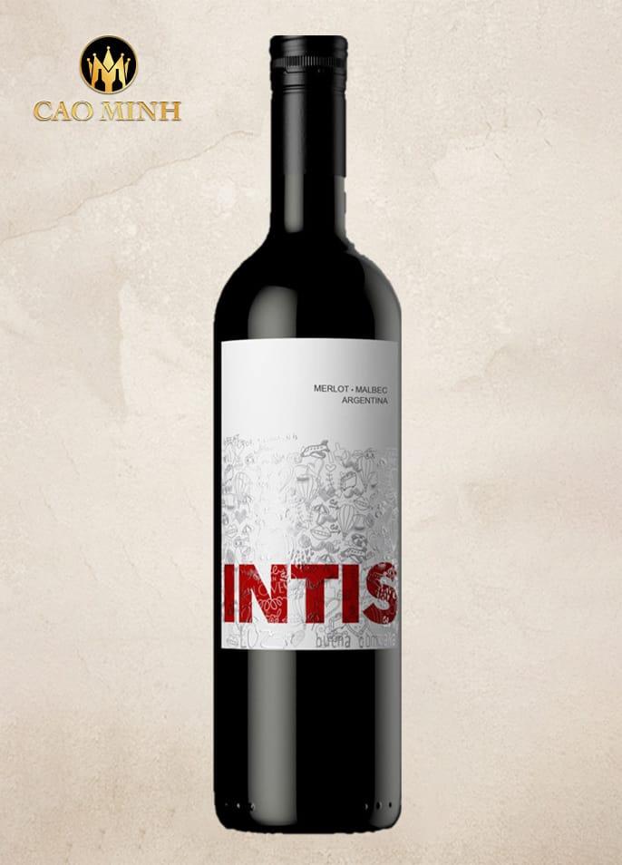 Rượu Vang Intis Merlot Malbec - Argentina