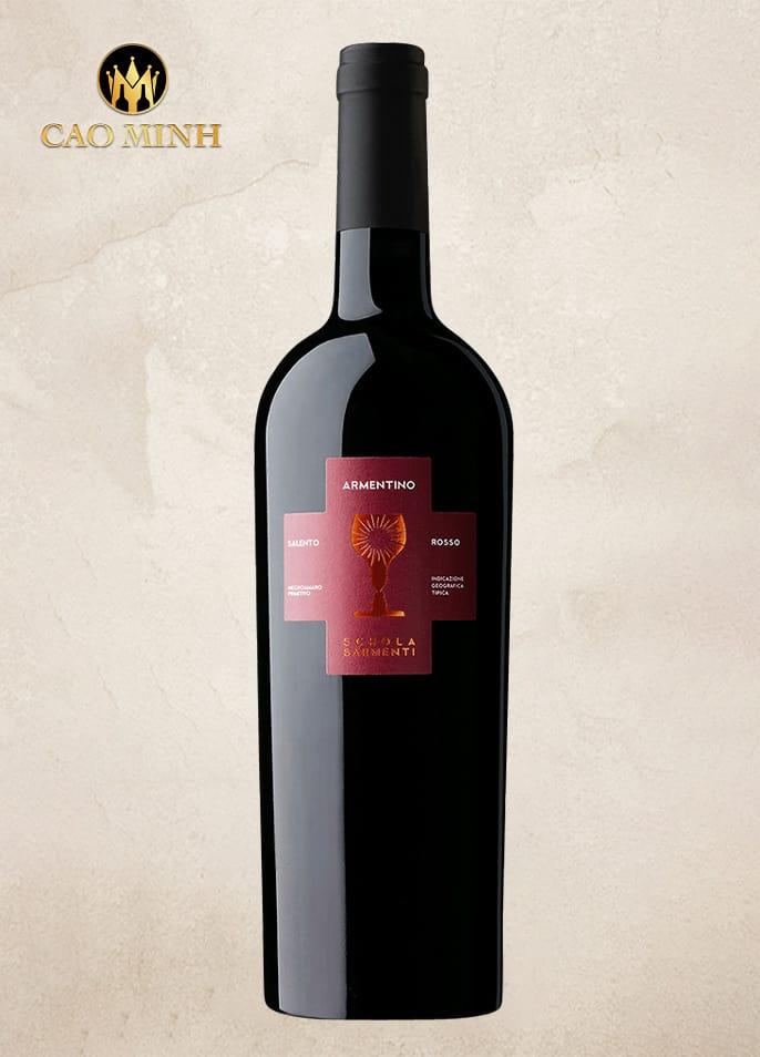Rượu vang Ý Armentino Primitivo