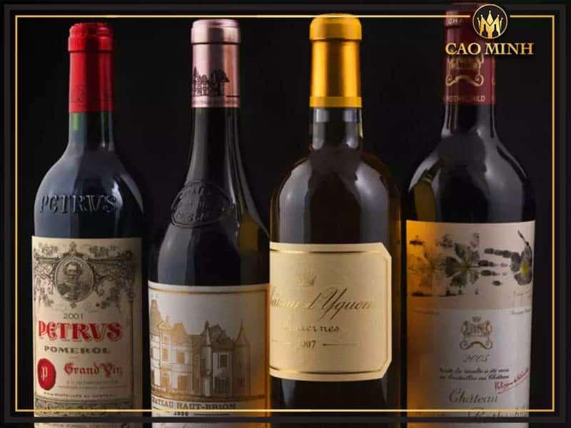 Rượu vang Pháp nào ngon nhất? được ưa chuộng nhất hiện nay?