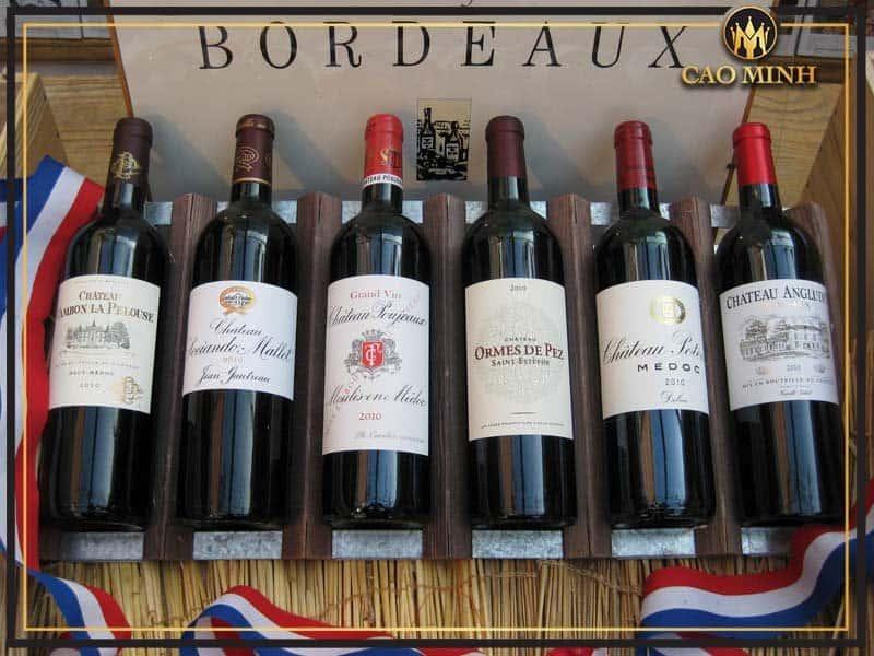 Rượu vang Bordeaux - 3 dòng vang Bordeaux Pháp nổi tiếng bạn nên thử