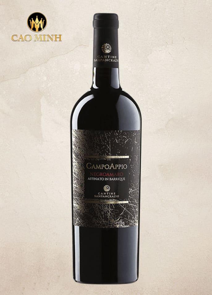 Rượu vang Ý Campo Appio Negroamaro