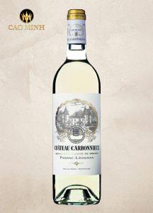 Rượu vang Pháp Chateau Carbonnieux Pessac Leognan