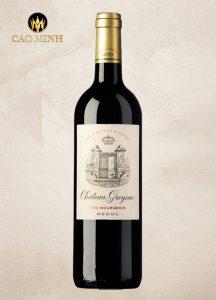 Rượu vang Chateau Greysac