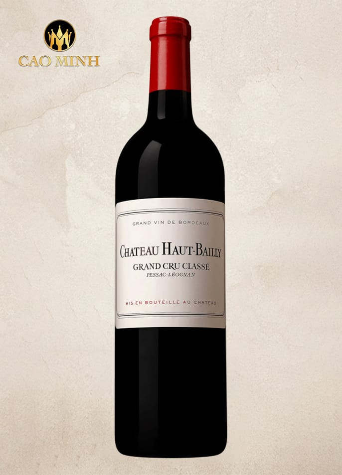 Rượu vang Pháp Chateau Haut Bailly