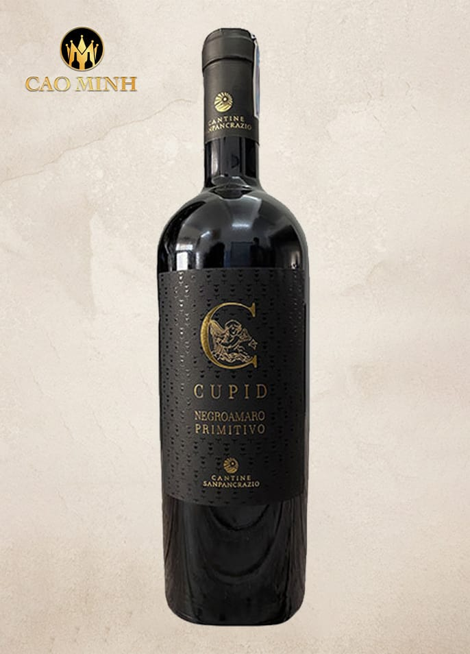Rượu vang Ý Cupid Negroamaro Primitivo