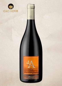 Rượu vang Pháp Da Reserva Syrah