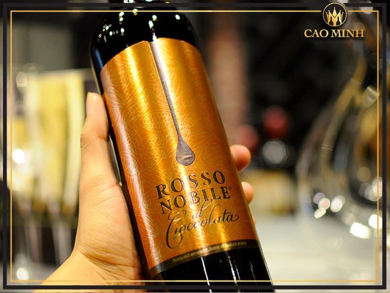 Đánh giá rượu vang Rosso Nobile al Cioccolata