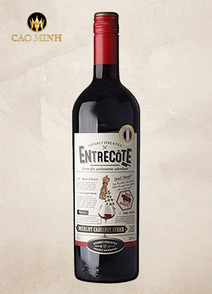 Rượu vang Entrecote Pháp