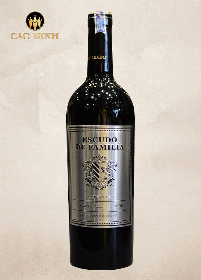 Rượu Vang Tây Ban Nha Escudo De Familia Tempranillo