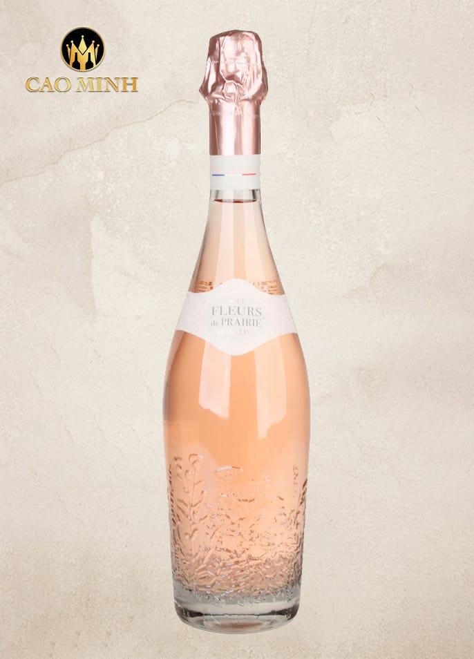 Rượu vang Pháp Fleurs De Prairie Cotes De Provence Rose