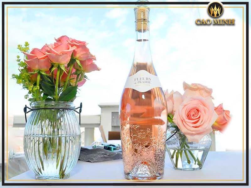 Fleurs De Prairie Cotes De Provence Rose