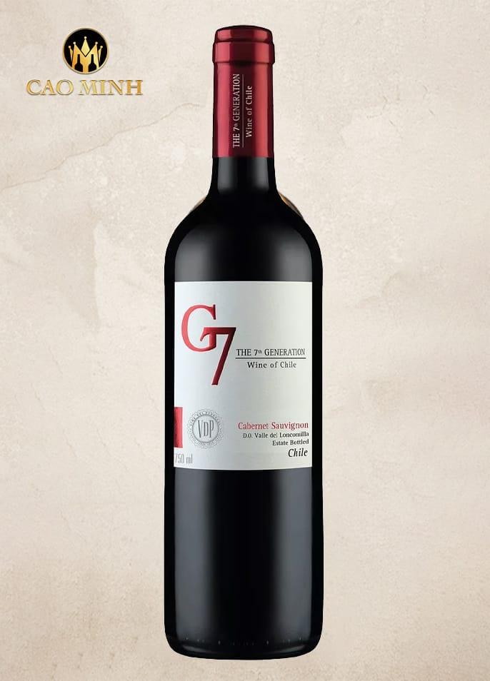 RƯỢU VANG CHILE G7 CLASICO
