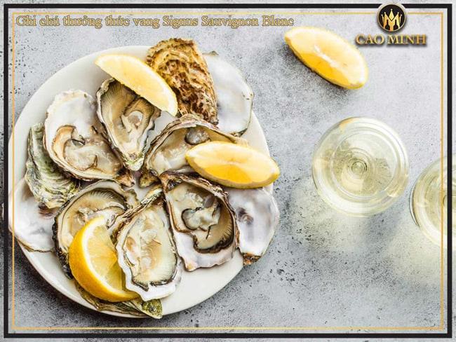 Ghi chú thưởng thức vang Signus Sauvignon Blanc