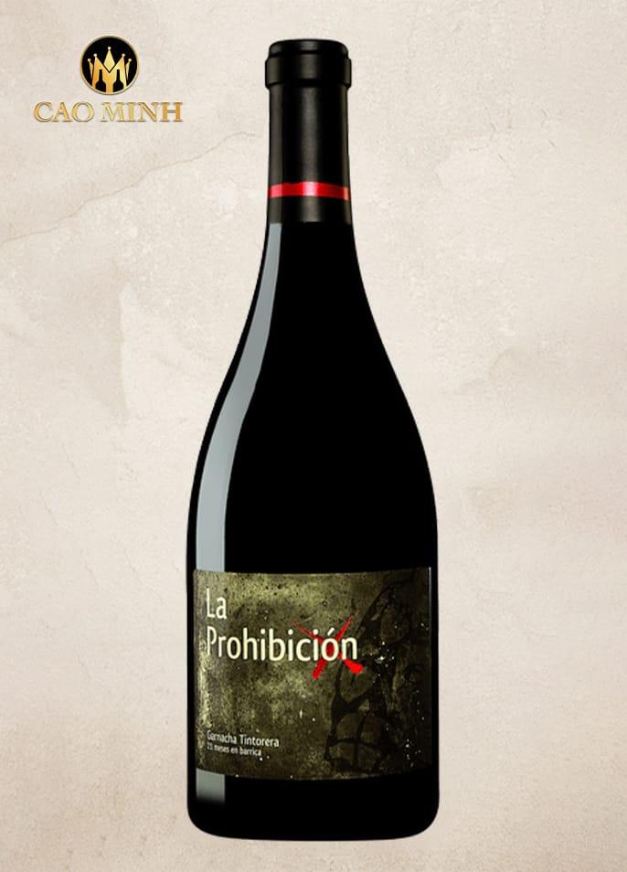 Rượu vang Tây Ban Nha La Prohibicion Garnacha Tintorera
