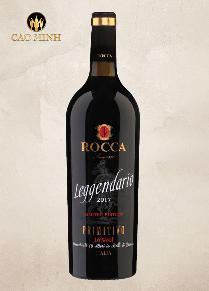 Rượu vang Leggendario Primitivo