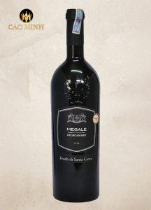 Rượu vang Ý Megale Black Label