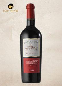 Rượu vang Ý Passione Di Corterosso
